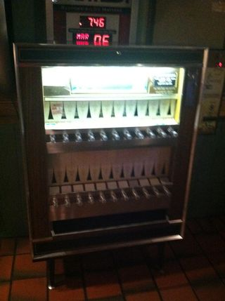 Cigarette-machine